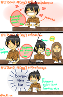 #UTSea3 #Day3 - Comic Strip React by HikariBayo