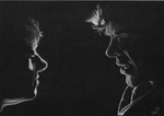 John and Sherlock on black by Annocent