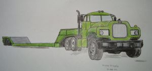 Green Truck by Zoey-01