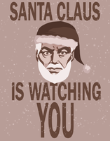 Santa Claus Is Watching You by Shannon-Long