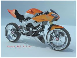 honda NAS Killer by dwiirawan