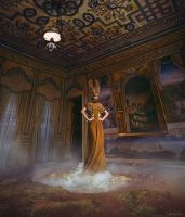 GIRL IN A GOLDEN GEYSER (costume) by AgnieszkaOsipa