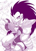 Raditz by bleedman