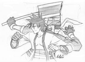 Sanosuke Sagara and me v1.0 by mechaFROG