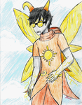 (Homestuck OC) Seusus, the Mage of Light by superbowserjimmy67