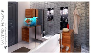 Water House - Bathroom 3 by Semsa