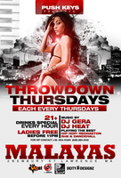 throwdown thursdays new flyer by DeityDesignz