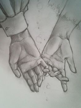 The Promise (Holding Hands) by neerai