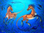 Sea Horses by Anisis