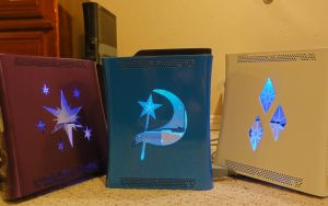 Twiligtht Sparkle TRIXIE!!!!! and Rarity Xbox 360 by osu4ev