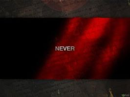 Never by typoholics