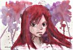 Colour Splash: Erza by Koza-Kun