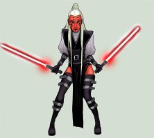 Star Wars: OC Satana Cata by BleedingHeartworks