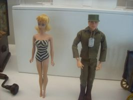 First Barbie and Ken Dolls by withinmeloveresides1