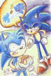 Commission - Sonic and Monty by tabiki999