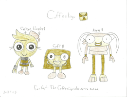 Mixels - The Coffeelings by worldofcaitlyn