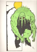 Man Thing by Elvatron