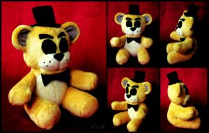 Five Nights At Freddy's - Golden Freddy - Plush by roobbo