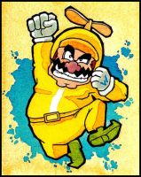 Propeller Wario by Escopeto