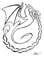 Draigbris Emblem by Feanor-the-Dragon