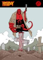 Hellboy by melihyilmaz