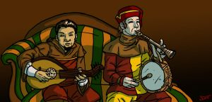 Musicians by DLTabor