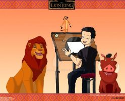Me and our Lion King friends by Archon89