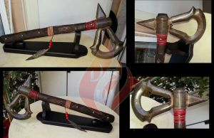 Connor's Tomahawk - AC III. by BlastFlame