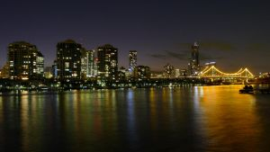 Crossing Brisbane River by livenover