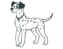 Dalmation by kohu-scribbles