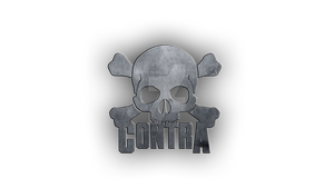 Contra logo by DemircanGraphic