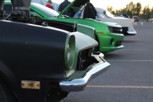 Pointed Green Front Ends by KyleAndTheClassics