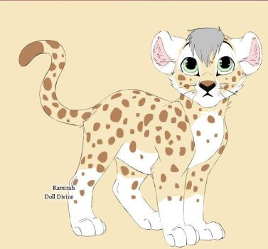 adoptable cub 4 by Wolvergirl