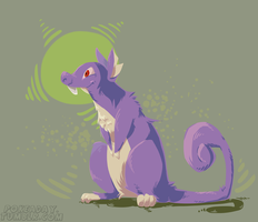 Rattata by Pokeaday