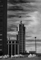 Fort Wayne Tower Bank by redwolf518