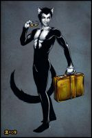 Felix the Cat by Candra