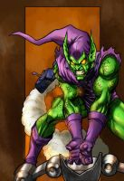 Green Goblin returns - colors by ZethKeeper