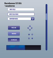 Barebones UI Kit by Azadoroz