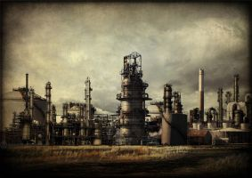 A chemical landscape by CouchyCreature