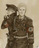 Nazi Germany by one-who-draws