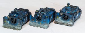 [Wh40k] Vindicator Squadron by Mineraleater