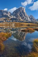 Tre Cime - Mirror Lake by AndreasResch