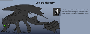 Cele the night fury by pd123sonic
