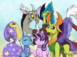 The Odd Team of Heroes by InuHoshi-to-DarkPen