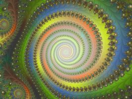 Juno 18 The Rainbow Spiral by Kattvinge
