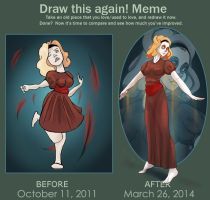 Meme Before And After: Lost Bird by Blumestien
