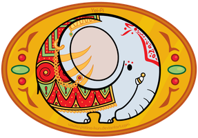 Hindi Elephant by Yei-Pi