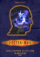 9th Doctor - Christopher Eccleston - Minimalist by Stormy94