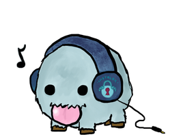 Dancing Poro for Instalok! by PossessedGear