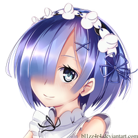 Rem Re: Zero by bl1zz4r4